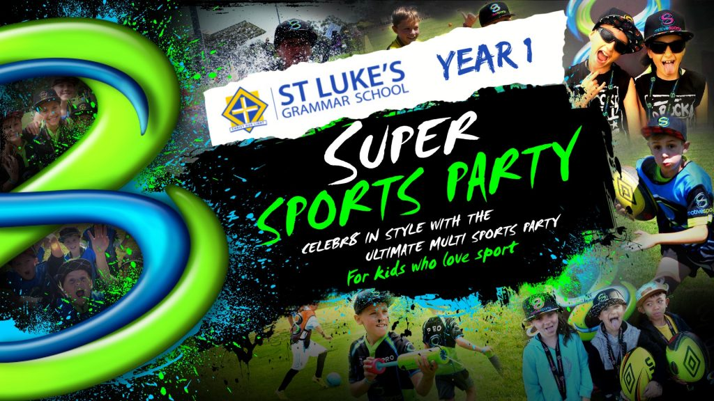ST LUKES Yr 1 SUPER SUNDAY SPORTS PARTY
