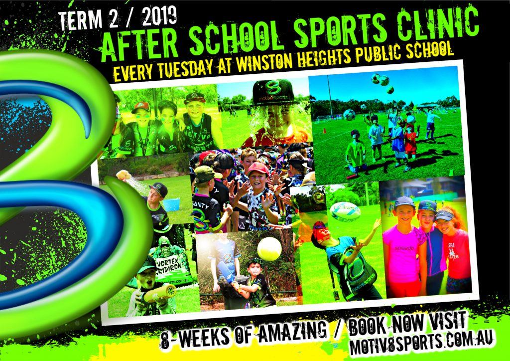 TERM 2 Winston Heights PS 8-Week After School Sports Clinic