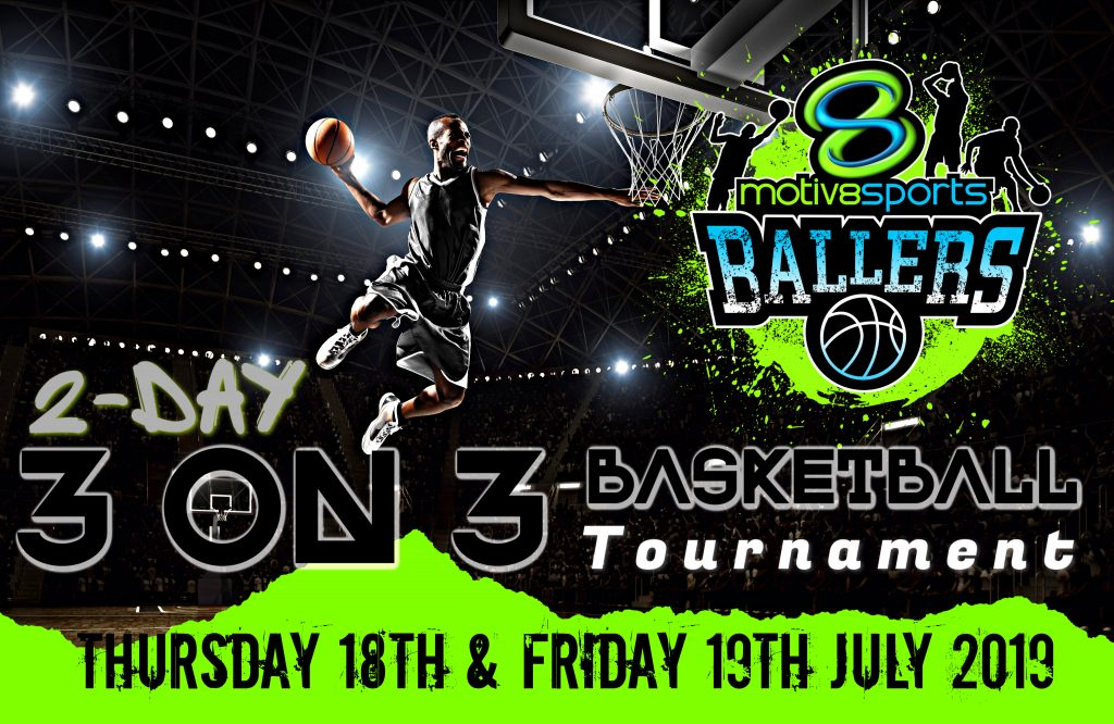 BALLERS 2-day 3 on 3 Basketball Tournament /  Castle Hill