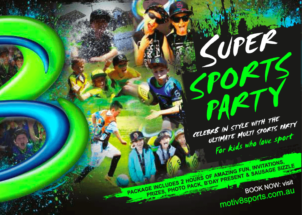 Super Sunday Sports Birthday Party – June